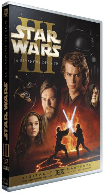 Le DVD de la Revanche des Sith