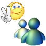 Les 2 mascottes des Messengers